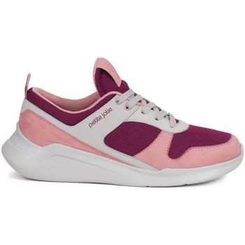 Zapatos Mujer Zapatillas bajas Petite Jolie By Parodi 3974 Rosa