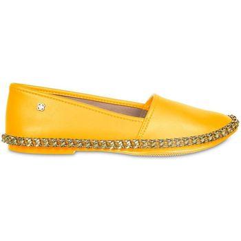 Zapatos Mujer Bailarinas-manoletinas Petite Jolie By Parodi 4339 Amarillo