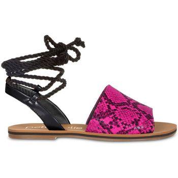 Zapatos Mujer Sandalias Petite Jolie By Parodi 4559 Rosa