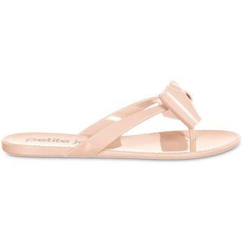 Zapatos Mujer Chanclas Petite Jolie By Parodi 4628 Beige