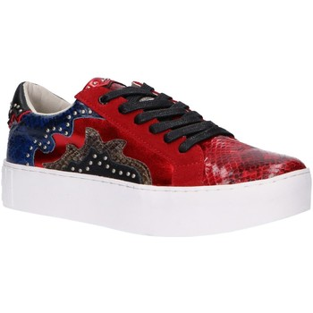 Zapatos Mujer Deportivas Moda Sixty Seven 79898 Rojo