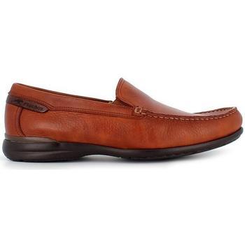 Zapatos Hombre Mocasín Fluchos 8682 marrón