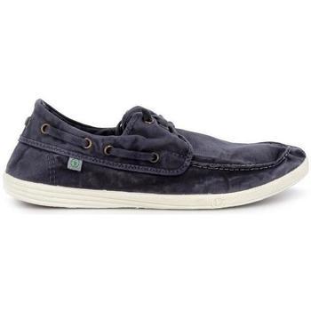 Zapatos Hombre Zapatos náuticos Natural World E 303 Azul