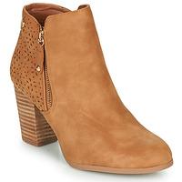 Zapatos Mujer Botines Xti  Cognac