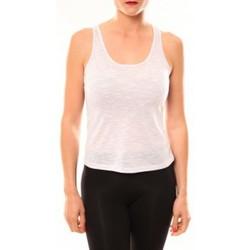 textil Mujer Camisetas sin mangas Meisïe Débardeur 50-502SP15 Lavande Violeta