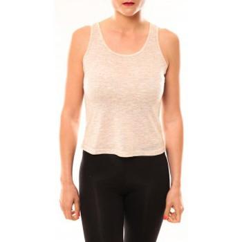 textil Mujer Tops y Camisetas Meisïe Débardeur 50-502SP15 Beige Beige