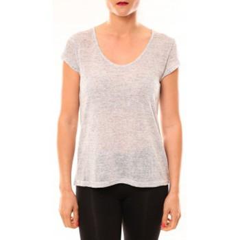 textil Mujer Camisetas manga corta Meisïe T-Shirt 50-606SP15 Gris clair Gris