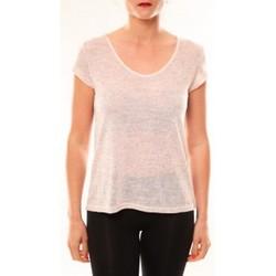 textil Mujer Camisetas manga corta Meisïe T-Shirt 50-606SP15 Rose Rosa