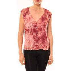 textil Mujer Camisetas sin mangas Meisïe Top 50-504SP15 Rose Rosa
