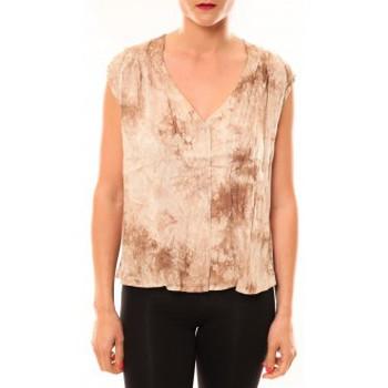 textil Mujer Camisetas sin mangas Meisïe Top 50-504SP15 Beige Beige