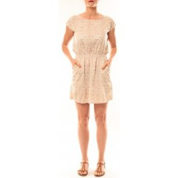 textil Mujer Vestidos cortos Meisïe Robe V6-710SP15 Beige Beige