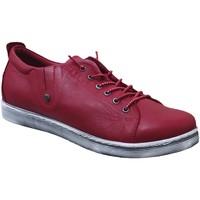 Zapatos Mujer Derbie Andrea Conti 0348736 sneaker Cuero rojo