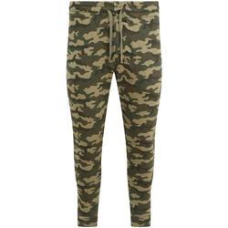 textil Hombre Pantalones de chándal Awdis Track Verde