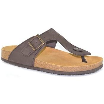 Zapatos Hombre Chanclas Morxiva Shoes Sandalias Bio de hombre de piel by Morxiva Marron
