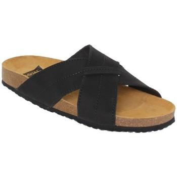 Zapatos Hombre Zuecos (Mules) Morxiva Shoes Sandalias Bio de hombre de piel by Morxiva Noir