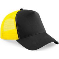 Accesorios textil Gorra Beechfield Trucker Black/Yellow