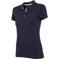 textil Mujer Camisetas manga corta 4F NOSH4 TSD008 Granat Azul marino