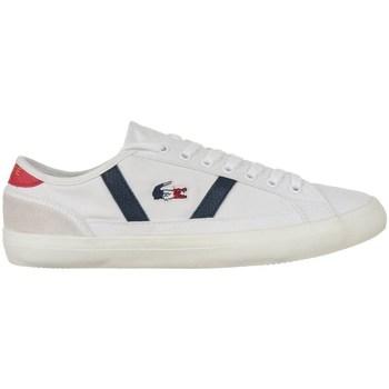 Zapatos Hombre Zapatillas bajas Lacoste Sideline Blanco