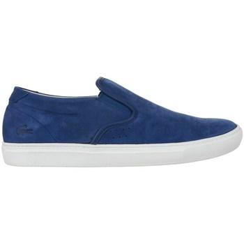 Zapatos Hombre Mocasín Lacoste Alliot Slipon Azul