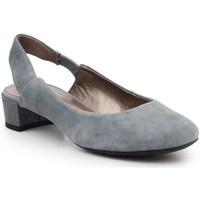 Zapatos Mujer Zapatos de tacón Geox D Carey B Grises