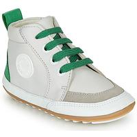 Zapatos Niños Botas de caña baja Robeez MIGO Beige / Verde