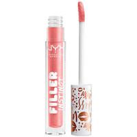 Belleza Mujer Gloss  Nyx Filler Instinct Plumping Lip Polish sparkling Please  2,5 m
