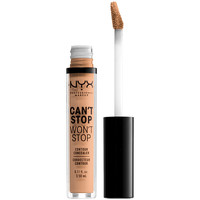 Belleza Mujer Base de maquillaje Nyx Can't Stop Won't Stop Contour Concealer medium Olive  3,5 m