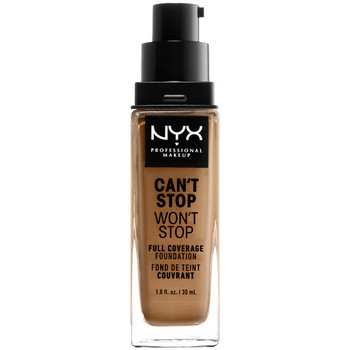 Belleza Mujer Base de maquillaje Nyx Can't Stop Won't Stop Full Coverage Foundation golden