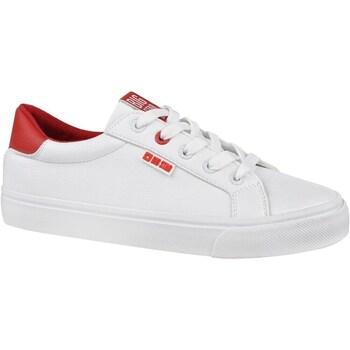 Zapatos Mujer Zapatillas bajas Big Star EE274311 Blanco,Rojos