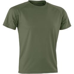 textil Hombre Camisetas manga corta Spiro Aircool Combate
