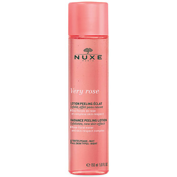 Belleza Mujer Mascarillas & exfoliantes Nuxe Very Rose Lotion Peeling Eclat  150 ml