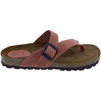 Zapatos Mujer Sandalias Interbios Sandalias  7119 Teja Naranja