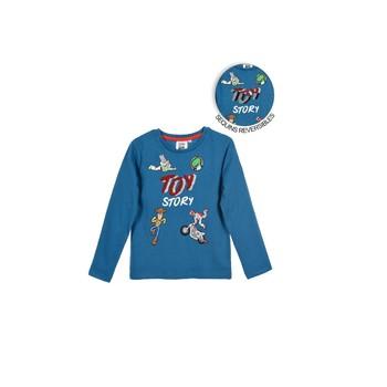 textil Niño Camisetas manga larga TEAM HEROES TOY STORY Azul
