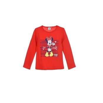 textil Niña Camisetas manga larga TEAM HEROES MINNIE Rojo