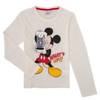 textil Niño Camisetas manga larga TEAM HEROES MICKEY Blanco