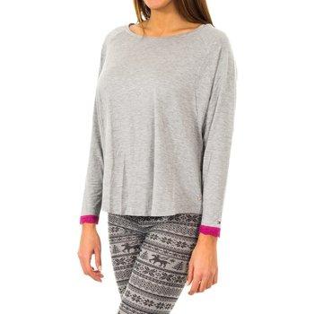 textil Mujer Camisetas manga corta Tommy Hilfiger Camiseta Tommy Hilfiger Gris