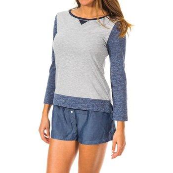 textil Mujer Camisetas manga larga Tommy Hilfiger Camiseta M/Larga Tommy Hilfiger Multicolor