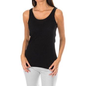 textil Mujer Camisetas sin mangas Tommy Hilfiger Camiseta Tirantes Tommy Hilfiger Negro