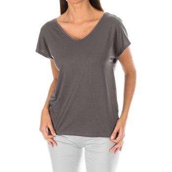 textil Mujer camisetas manga corta Tommy H Underwear Camiseta sin Mangas T. Hilfiger Gris