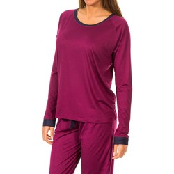 textil Mujer Camisetas manga larga Tommy H Underwear Camiseta M/Larga Tommy Hilfiger Violeta