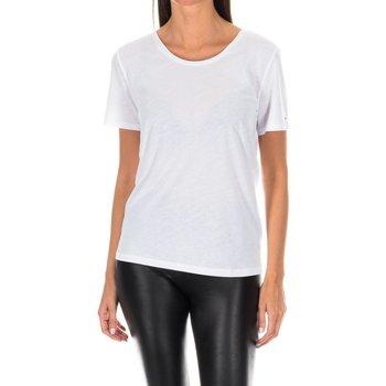 textil Mujer camisetas manga corta Tommy H Underwear Camiseta M/Corta Tommy Hilfiger Blanco