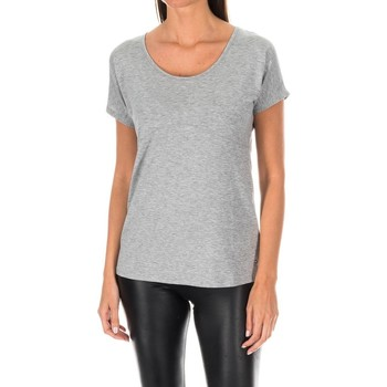 textil Mujer Camisetas manga corta Tommy Hilfiger Camiseta M/Corta Tommy Hilfiger Gris