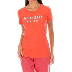 textil Mujer Camisetas manga corta Tommy Hilfiger Camiseta M/Corta Tommy Hilfiger Rojo