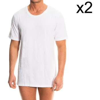 textil Hombre Camisetas manga corta Tommy Hilfiger Pack-2 Camiseta Interior Tommy H. Blanco