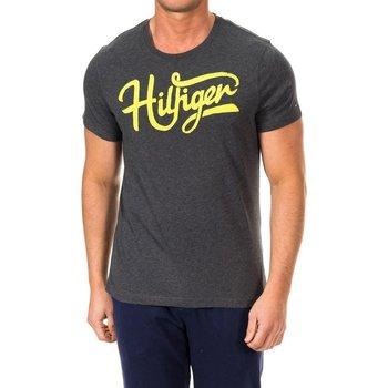 textil Hombre Camisetas manga corta Tommy Hilfiger Camiseta M/Corta Tommy Hilfiger Gris