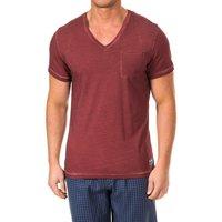 textil Hombre Camisetas manga corta Tommy Hilfiger Camiseta M/Corta Tommy Hilfiger Rojo