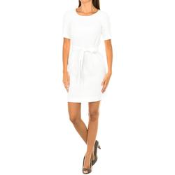 textil Mujer Vestidos cortos Armani jeans Vestido manga corta Blanco