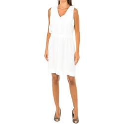 textil Mujer Vestidos cortos Armani jeans Vestido sin mangas Blanco