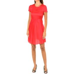 textil Mujer Vestidos cortos Armani jeans Vestido manga corta Rojo
