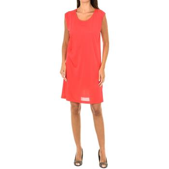 textil Mujer Vestidos cortos Armani jeans Vestido sin mangas Rojo